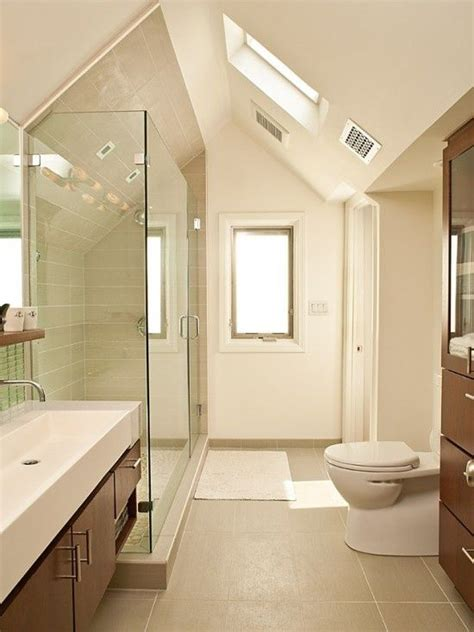 Kleines Badezimmer Dachschräge by Ideen Badezimmer Mit Dachschr 228 Ge Fenster Bad