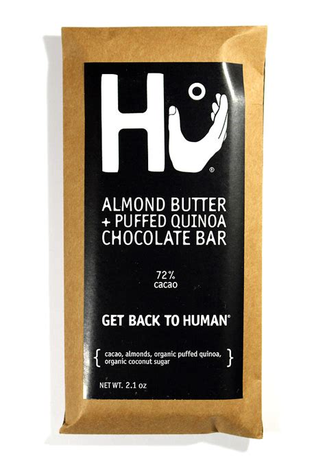 hu kitchen almond butter puffed quinoa