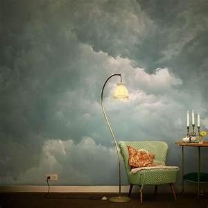 Die Schönsten Tapeten : wolkentapete im salon die sch nsten wolkenphotos als tapete inspiration tapeten ~ Markanthonyermac.com Haus und Dekorationen