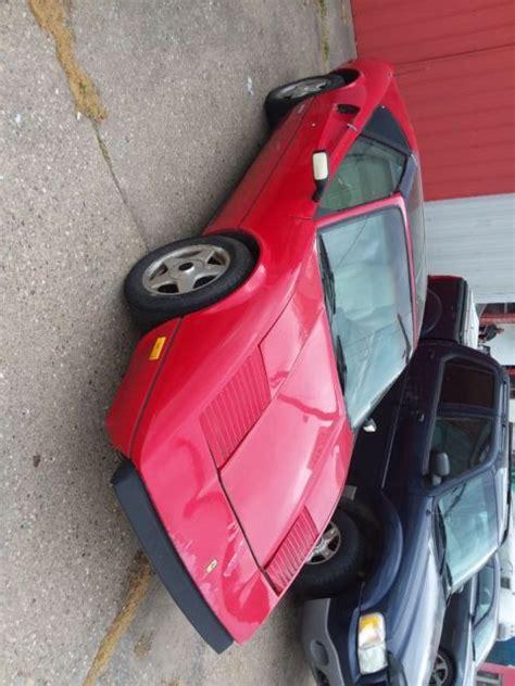 Pontiac fiero body kits ferrari 1988 pontiac fiero with. 1986 Pontiac fiero/ Ferrari 308 kit - Classic Pontiac Fiero 1986 for sale