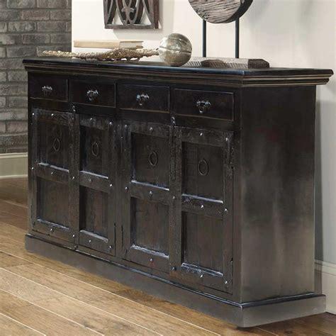 solid wood black cabinet black solid wood kansas 82 quot long server buffet dining