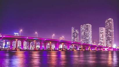 Vice Wallpapers Night Bridge Florida Phone