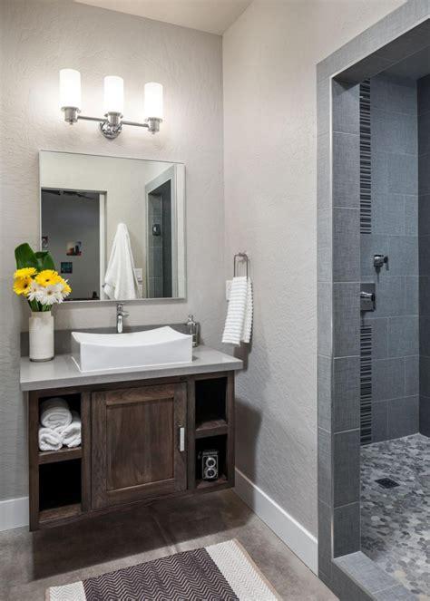 Modern Rustic Bathroom Tile by 17 Rustic Bathroom Vanity Designs Ideas Design Trends