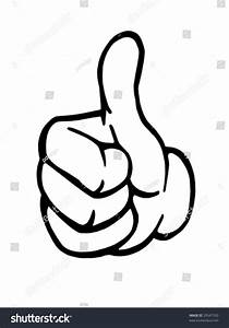 Thumb Vector Stock Vector 29547550 - Shutterstock