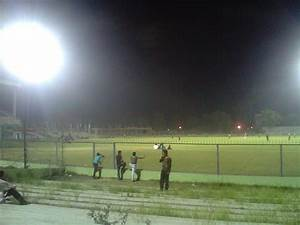 Panoramio photo of flood lights on green park stadium kanpur