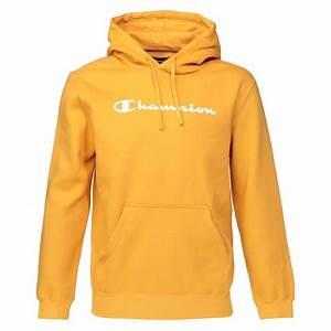 T Shirt Champion Homme : champion sweatshirt capuche homme jaune achat vente ~ Carolinahurricanesstore.com Idées de Décoration