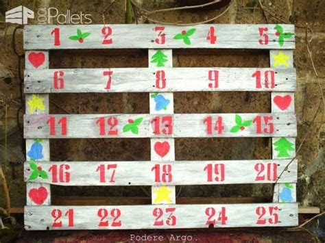 pallet christmas trees holiday decorations ideas
