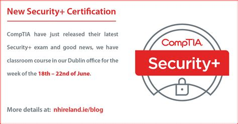 comptia security certification  horizons ireland