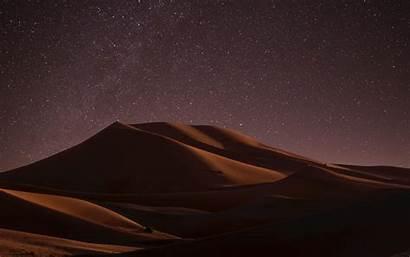 Desert Night Dunes Sky 4k Ultra