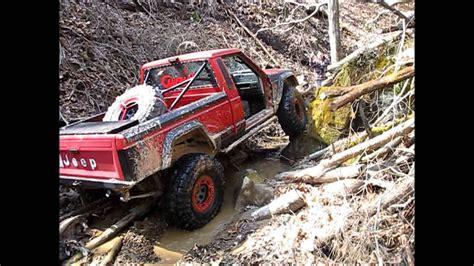 mj comanche jeep truck rock crawling youtube