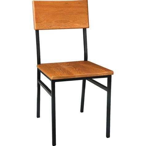 chairs metal rustic wood chair