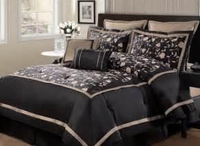 8pc evelyn black oversized bedding set bedding and comforter sets bedding sets