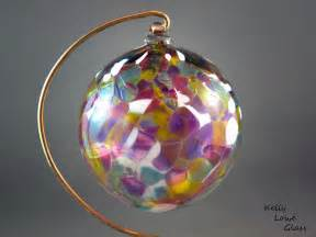 traditional blown glass ornament