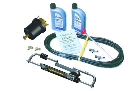Hydraulic Steering On Boat Is Stiff by Hydraulic Steering For Smaller Outboards Bush N