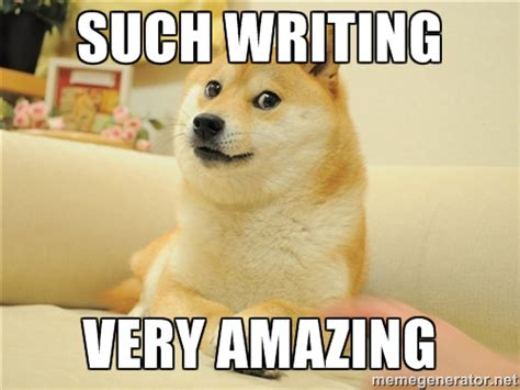 Writing Meme - 10 things only writers understand