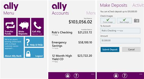 Ally Bank Now At The Windows Phone Store  Windows Central