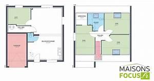 Plan Interieur Maison : plan maison 85m2 ~ Melissatoandfro.com Idées de Décoration
