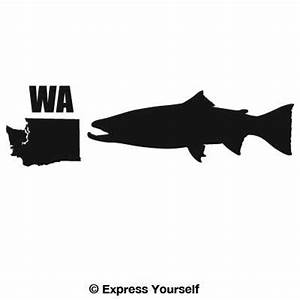 WA Steelhead Trout State Fish Decal