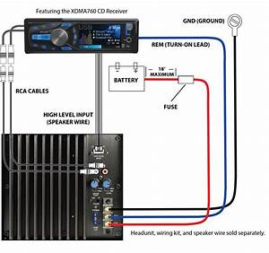 Basic Car Audio Wiring Diagram