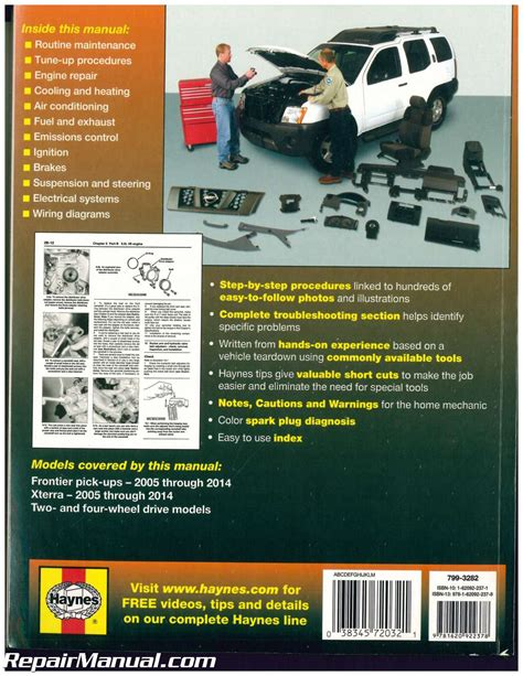 what is the best auto repair manual 2012 lexus es engine control haynes nissan frontier xterra 2005 2014 auto repair manual