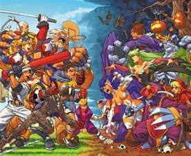 Mortal Kombat Arcade Cabinet by Rival Schools Vs Darkstalkers Cartoon Anime Manga
