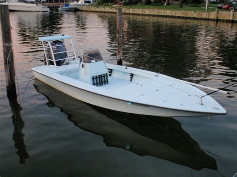 Eagle Flats Boats by 2006 Key Hopper 20 The Hull Boating And Fishing