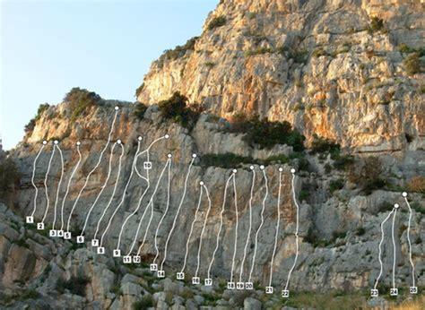 Sperlonga Avancorpo di Sinistra, Lazio, Italy climbing