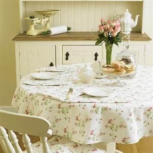 Runde Tischdecken Landhausstil : runde tischdecken zu jedem anlass ~ Watch28wear.com Haus und Dekorationen