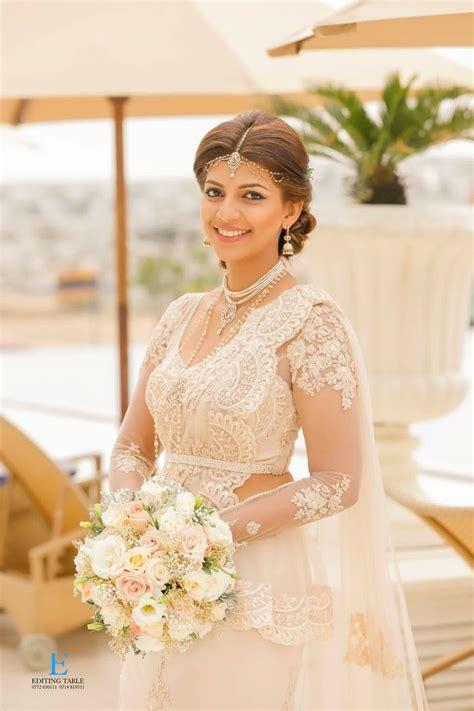 pin   sri lankan wedding  bridal saree designs