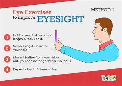 Exercises Eye Eyesight Improve Vision Eyes Focus