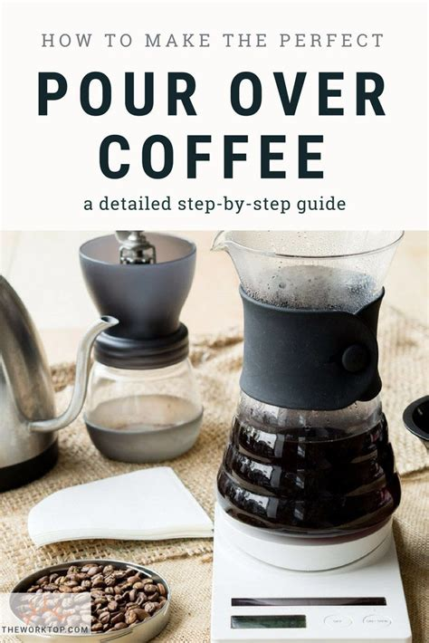 The quality of coffee you use will influence the final flavour of your coffee. How to Make Pour Over Coffee   Recipe   Pour over coffee, Gourmet coffee, Coffee recipes