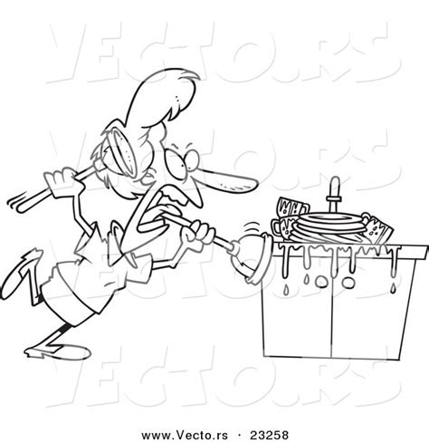 residential plumbing coloring pages  printable