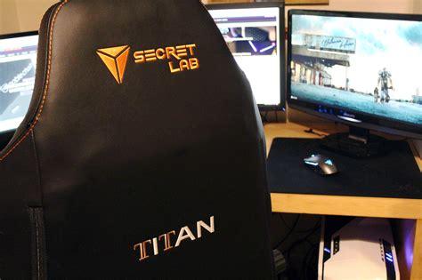 secretlab titan gaming chair review vgu