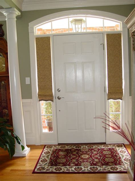 Door Window Coverings by Front Door Window Coverings Adorning And Adding The