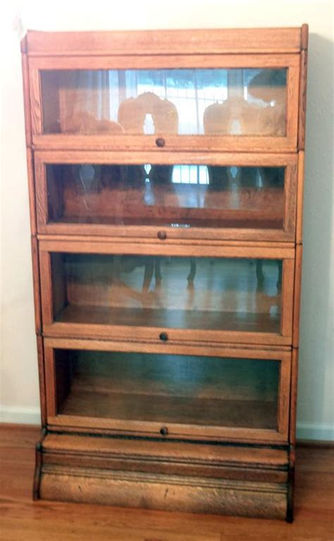 Antique Lawyer Bookcases antique lawyers barrister bookcase vintage free shipping