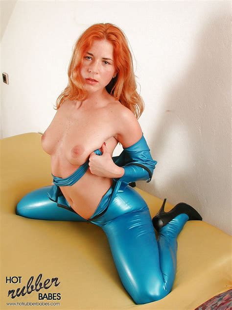 Redhead Rachel In Latex Exclusive At Hotrubberbabes 15
