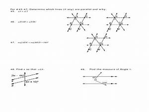 Semester 1 Review For Geometry Final Worksheet For 10th