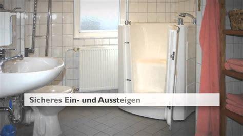Sitzbadewanne Für Erwachsene by Badewanne Mit T 252 R Sitzbadewanne Seniorenbadewanne Mobile