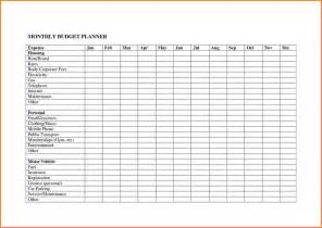 Monthly Budget Excel Spreadsheet 10 Monthly Budget Planner Spreadsheet Excel Spreadsheets