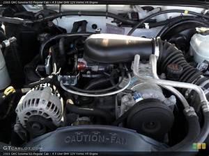 4 3 Liter Ohv 12v Vortec V6 Engine For The 2003 Gmc Sonoma  38637550