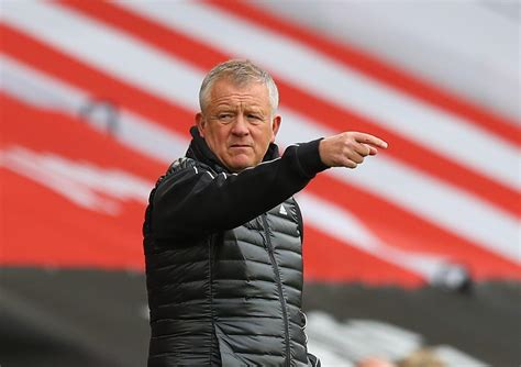 Liverpool v Sheffield United - Blades boss Chris Wilder in ...