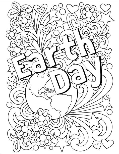 earth day coloring pages ideas  pinterest