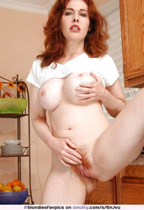 Redhead Milf Maevictoria Naked Hairy Pussy Labia