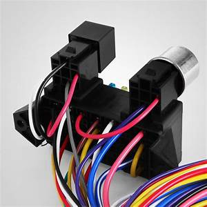 12 Circuit Universal Wire Harness Muscle Car Hot Rod