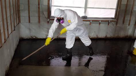 asbestos floor mastic removal youtube