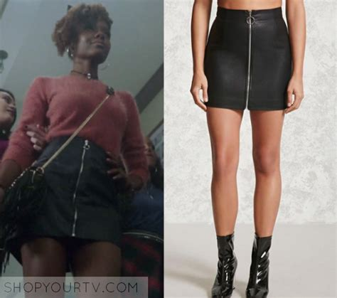 Riverdale Season 1 Episode 6 Josieu2019s Zip Front Skirt ...