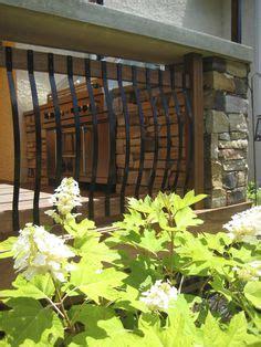 rebar deck railing frugal home diy  pinterest