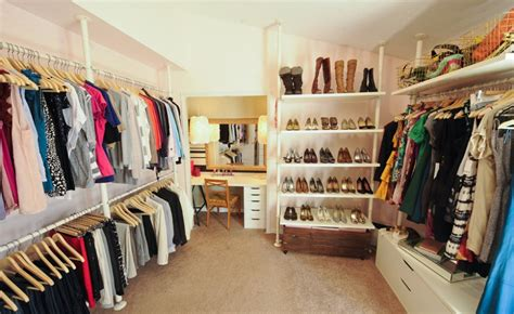 how to turn a closet into a walk in dressing
