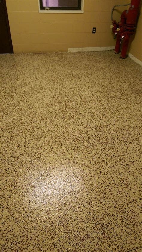 Paint Flake Epoxy Floor Coating