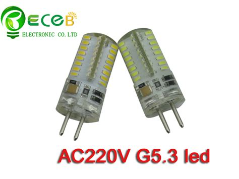 g5 3 led high voltage ac220 240v g5 3 led bulb smd3014 64pcs replace halogen l thick pin 2years